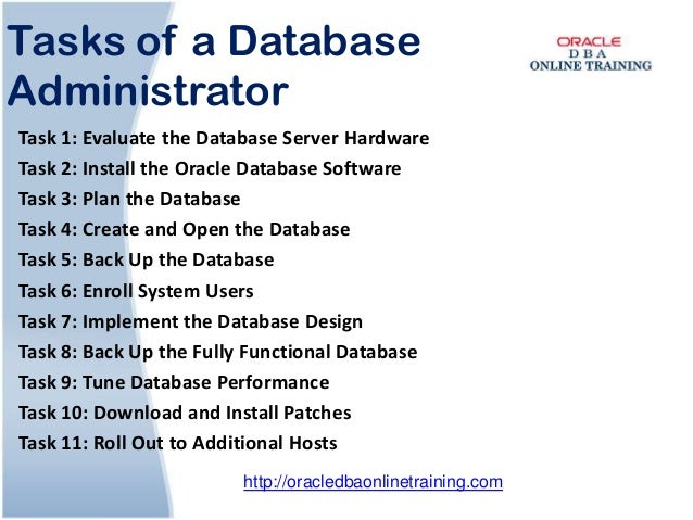 Oracle dba online training   Oracle DBA Online Course and Certificati…