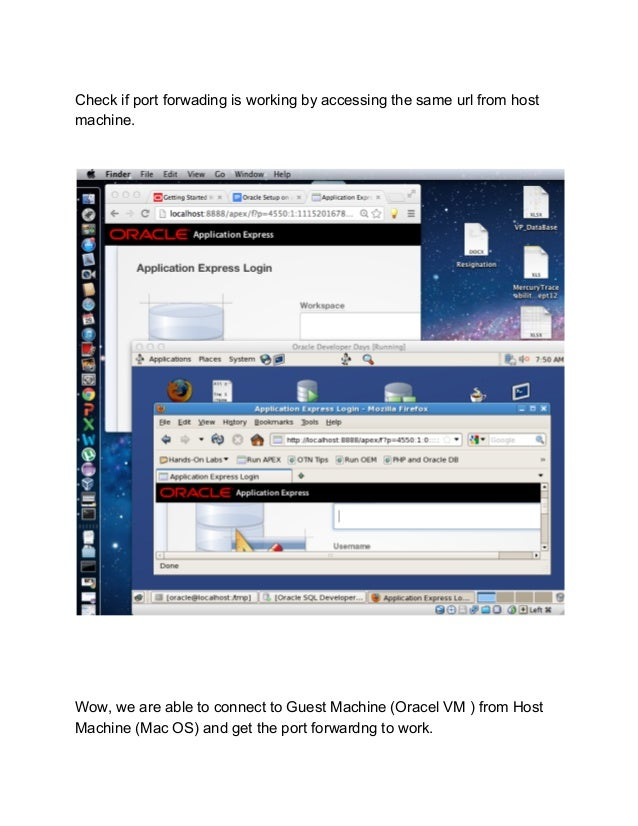 Accessing Oracle 11 g on Mac OS (10 7 5) using Oracle