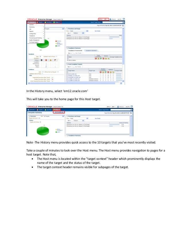 Oracle EMC 12C Grand Tour Slide 3