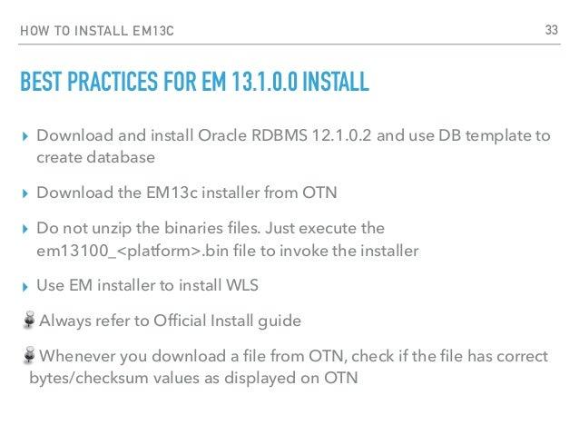 Oracle Enterprise Manager Cloud Control 13c for DBAs