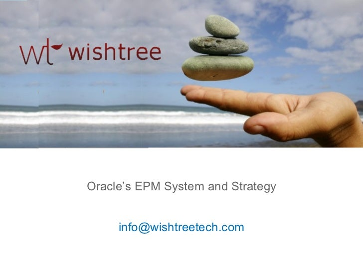 Oracle's EPM System and Strategy Wishtree Technologies