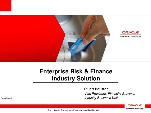 Enterprise Risk & Finance                Industry Solution                                                      Stuart Hou...