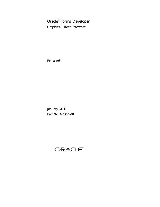 Oracle Form Graphics
