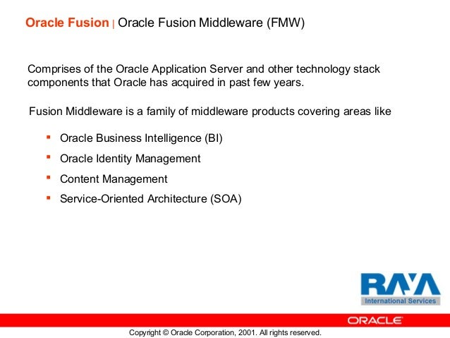 Oracle Fusion & Cloud Applications Overview