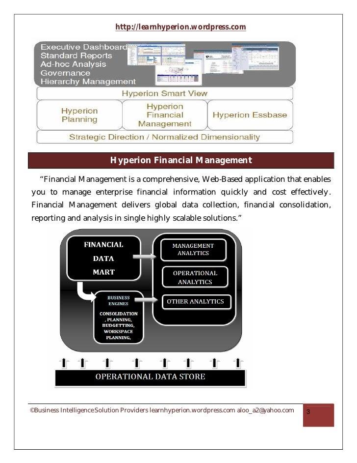 oracle hfm beginner s guide part i rh slideshare net Hyperion Financial Management Log Hyperion Financial Management System