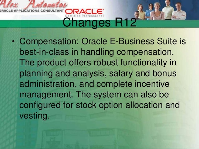 Oracle Hrms R12 Business Applications Overview
