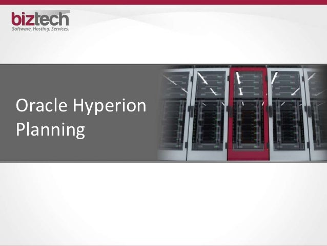 Oracle HyperionPlanning