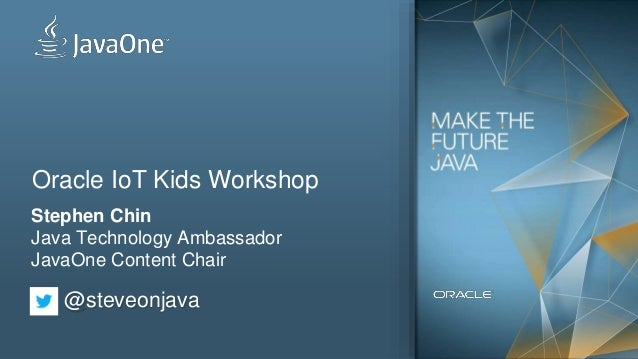 Oracle IoT Kids Workshop