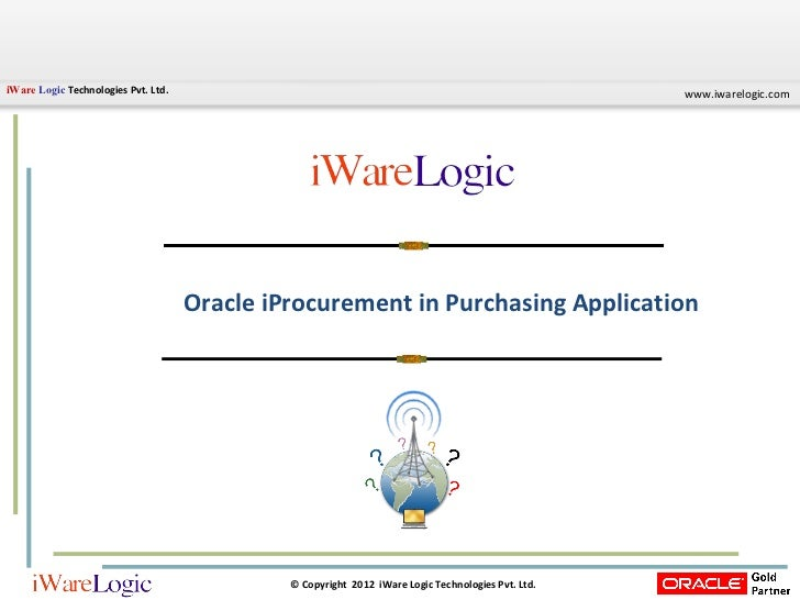 Oracle iProcurement in Purchasing Application