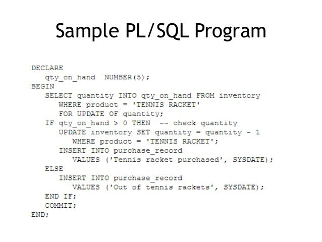 pl sql online training sql online training iteknowledge