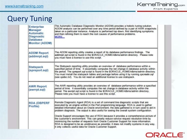 28 oracle performance tuning resume 100 oracle