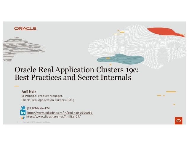Oracle RAC 19c: Best Practices and Secret Internals Slide 1