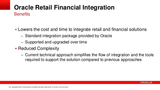 oracle retail financial integration 13 2 6