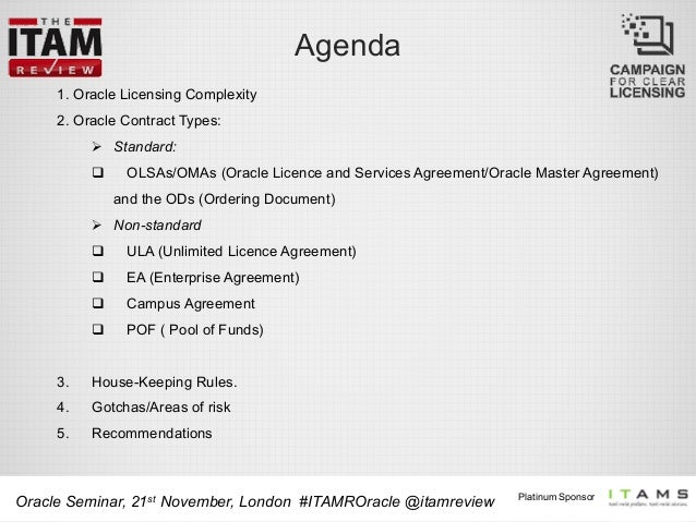 Itam Review Oracle Seminar