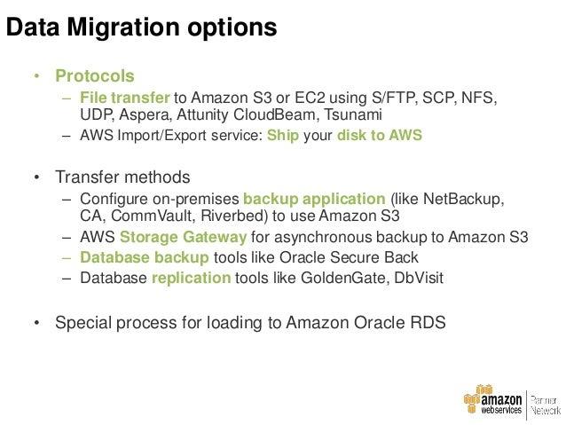 Data Migration process : RDS
