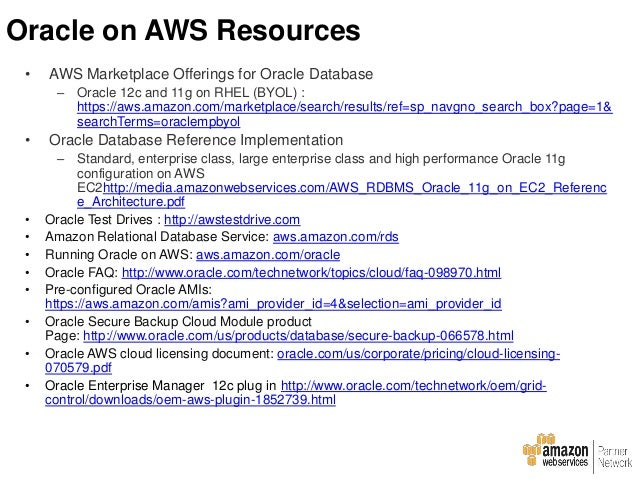running net applications on aws