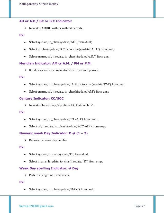 Oracle Sql In 7 Days By Suesh N V 1 0