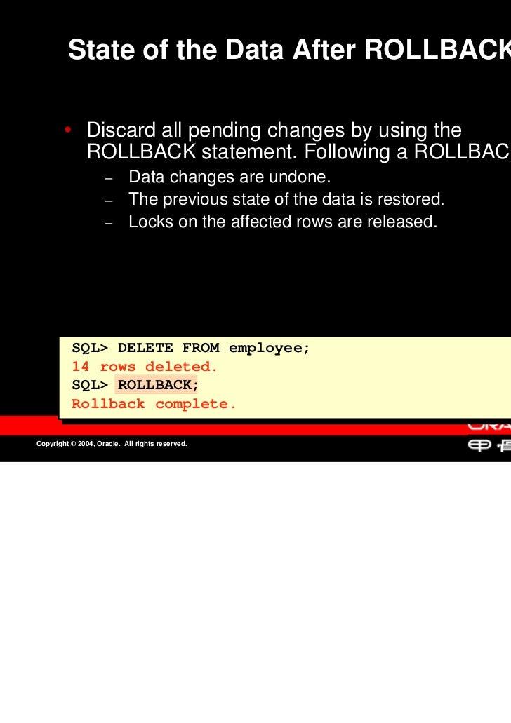 Oracle sql & plsql