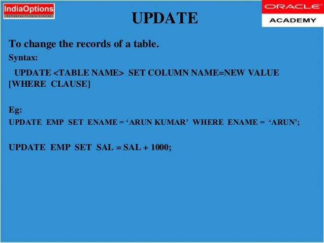 Wonderful Update Table Set Oracle Pictures - Best Image Engine .  sc 1 st  tagranks.com & Cool Update Table Set Photos - Best Image Engine - tagranks.com