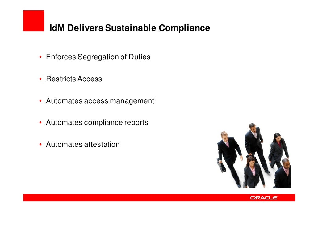IdM Centralizes & Strengthens Security  • Centralized security and policy management   – Consistent policies enforced acro...