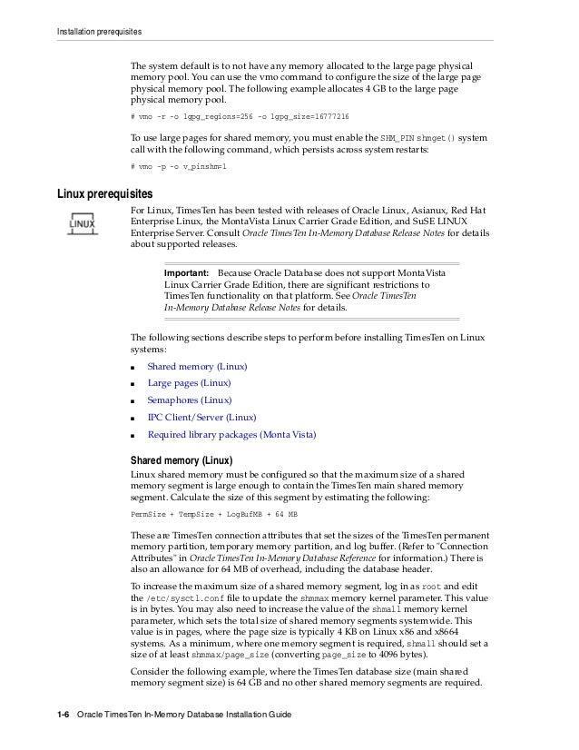 oracle timesten rh slideshare net TimesTen Database in Memory Fastest Database in Memory