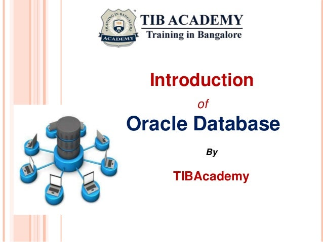 Oracle DBA Tutorial for Beginners -Oracle training institute in banga…