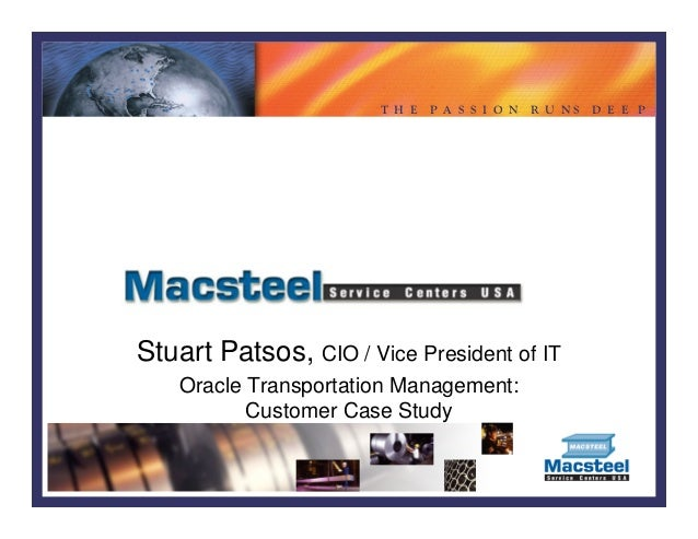 Oracle customer submitted case studies