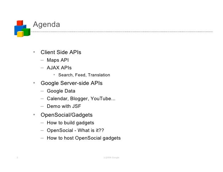 Integrating Google APIs into Your Applications