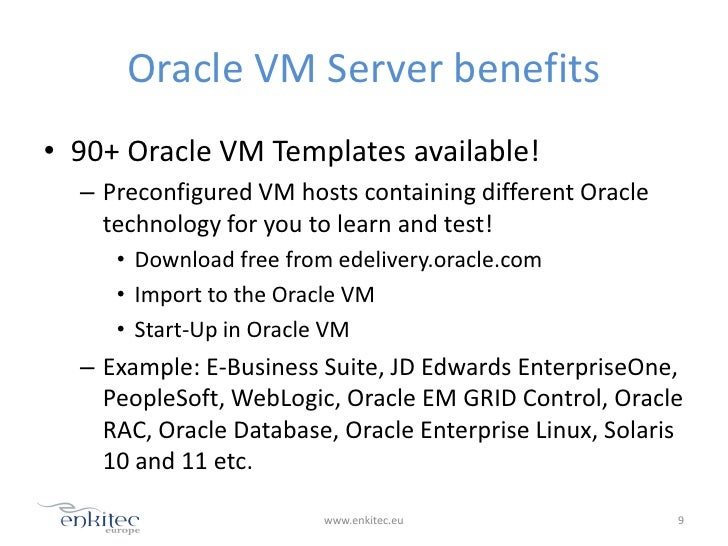 Oracle vm 3 0 fresh start tarmo alasoo for Download oracle vm templates