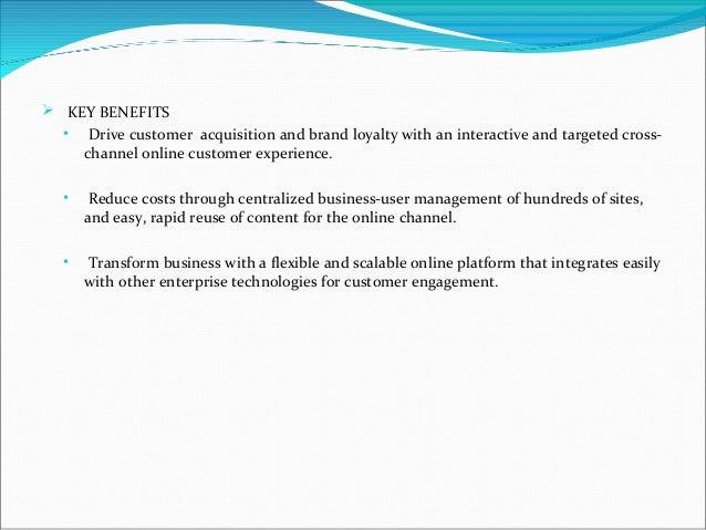 Oracle web center suit