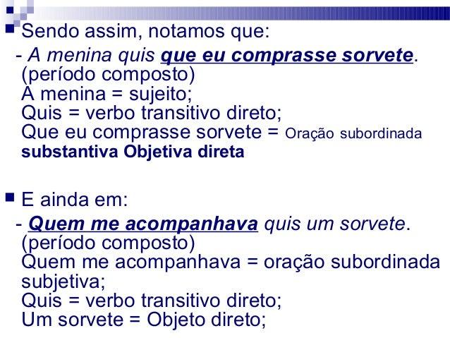 Oracoes Subordinadas Slide 3