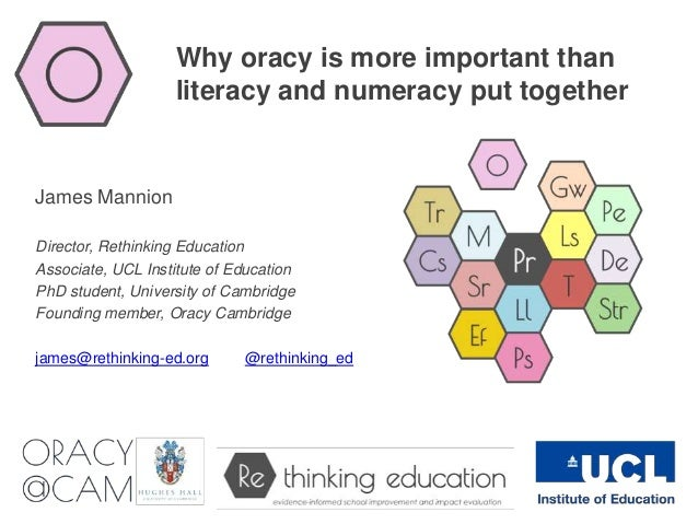 importance of literacy and numeracy in education