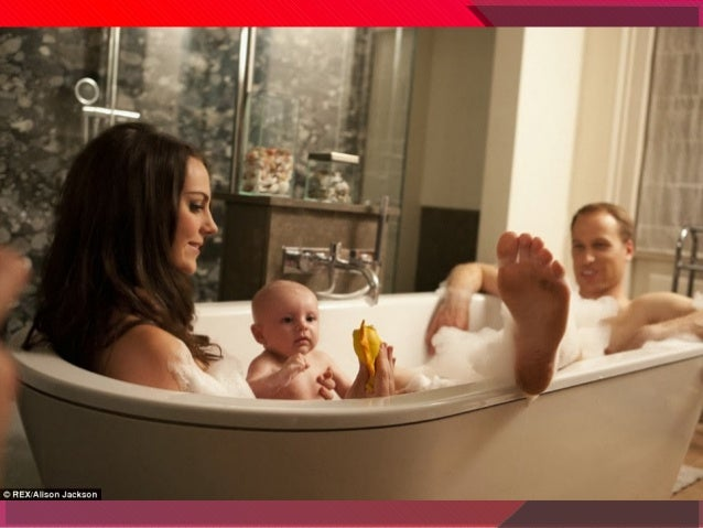 Ora de baie in familia regala britanica Slide 3