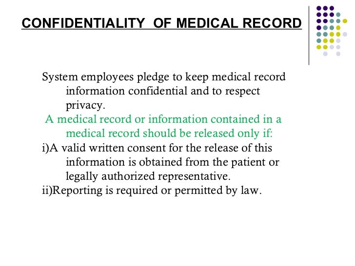 medical records released
