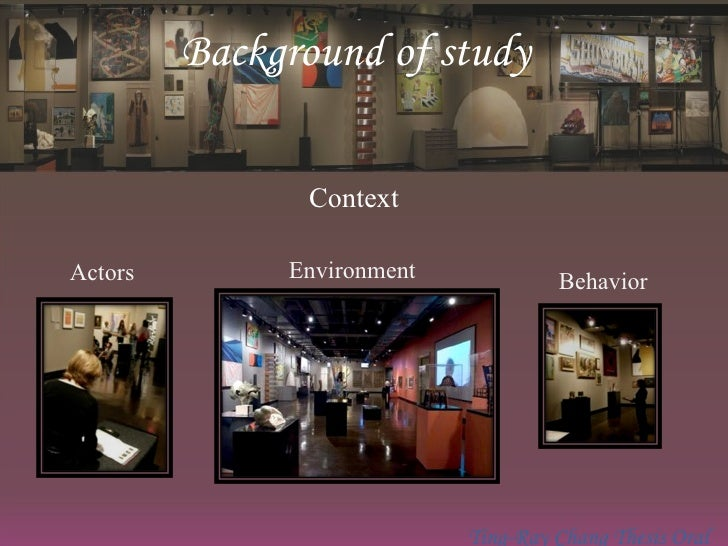 Effects of Design Features on Visitors' Behavior in a Museum Setting Slide 3