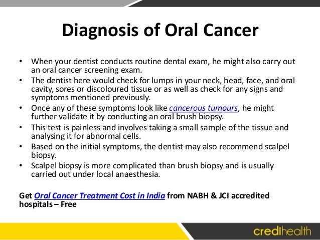 mouth cancer treatment cost