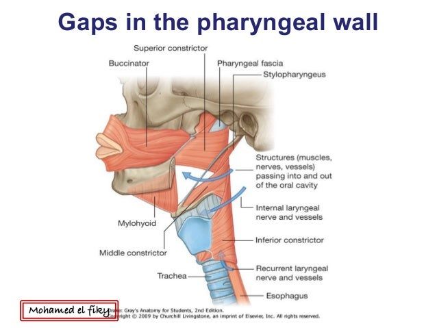 how to close pharyngeal wall