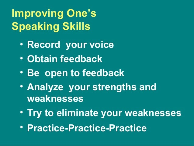 strengths of oral communication