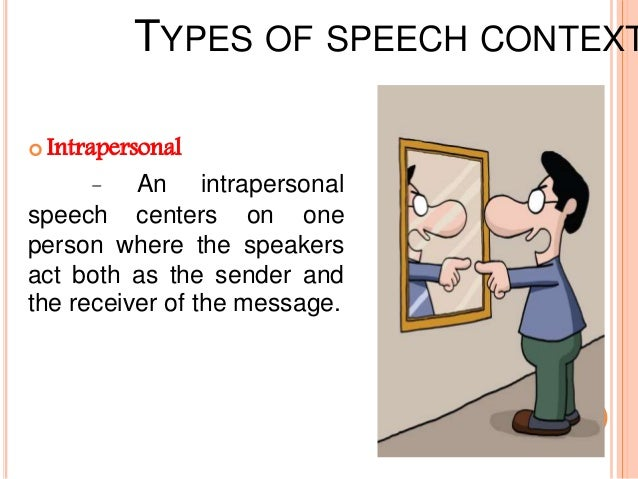 intrapersonal context