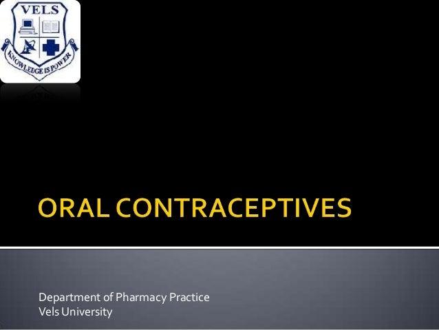 Department of Pharmacy Practice Vels University