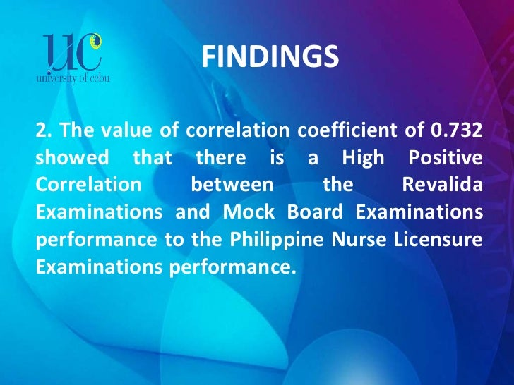 FINDINGS 2. The value of correlation coefficient of 0.732 showed that there is a High Positive Correlation between the Rev...