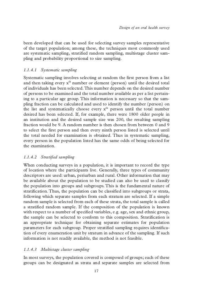 Oral health essay