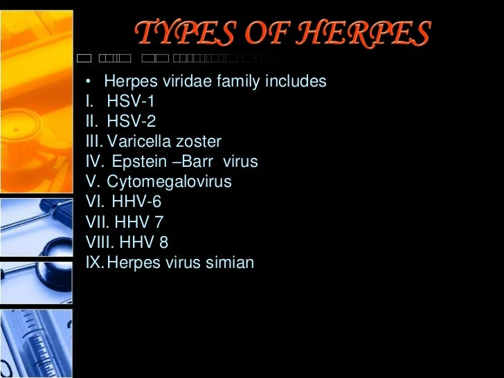 Research paper on Herpes