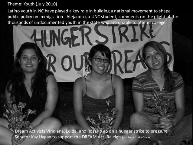 Theme: Youth (July 2010)Latino youth in NC have played a key role in building a national movement to shapepublic policy on...
