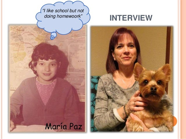 INTERVIEW About Primary School (Madrid): - Small - Few classes - For boys and girls (20 per class) - Uniform - Without pla...