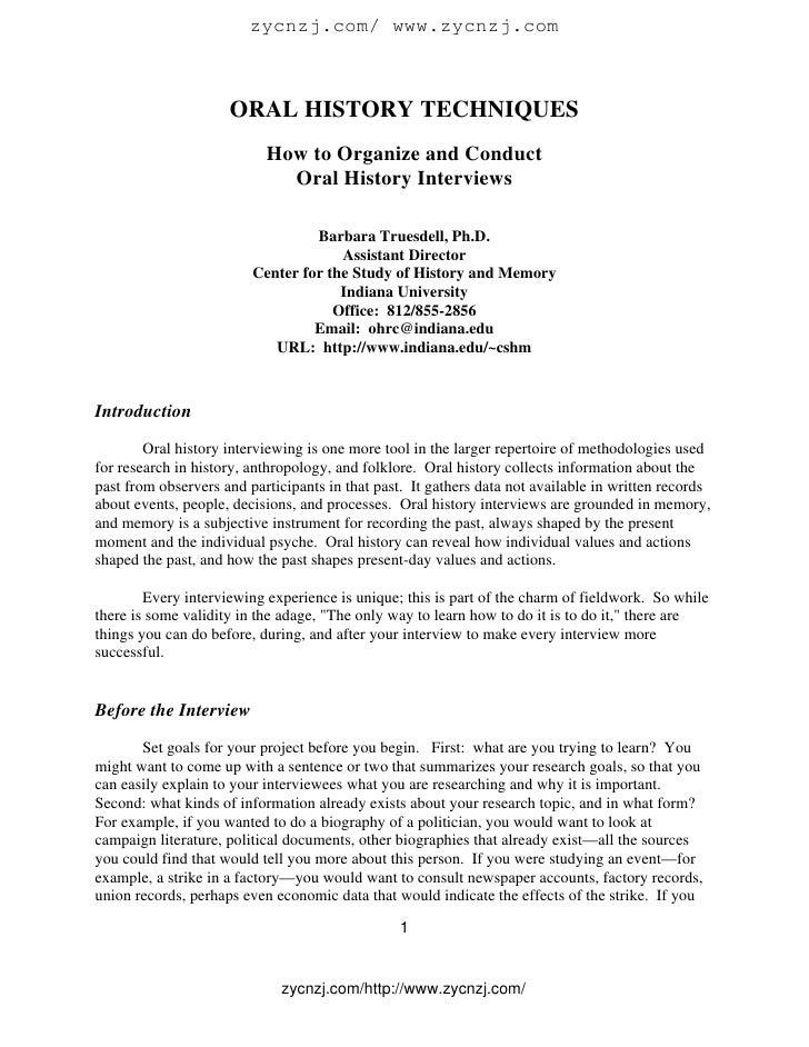 ORAL HISTORY METHODOLOGY PDF DOWNLOAD