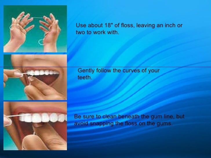 Oral Hygeine Instructions