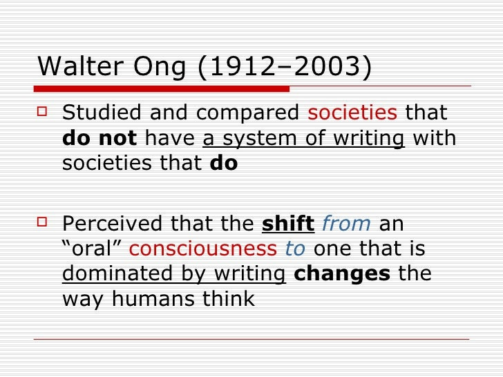 walter ong orality and literacy pdf