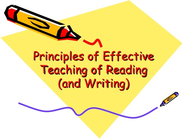 principles of effective teaching An emerging set of guiding principles and practices for the design and  results  of the collective thinking about effective teaching and learning environments.
