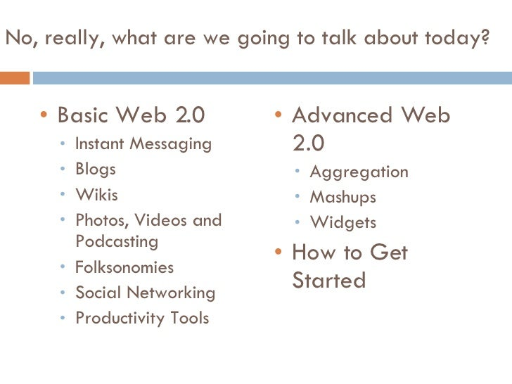 Web 2.0 in Law Libraries Slide 3